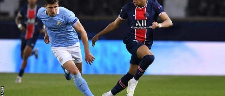 Мбаппе забив вісім голів у чотирьох матчах Ліги чемпіонів на початку сезону, але не зміг забити «Сіті» в першому матчі.
